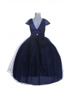Vestido de niña Modelo Rosy.