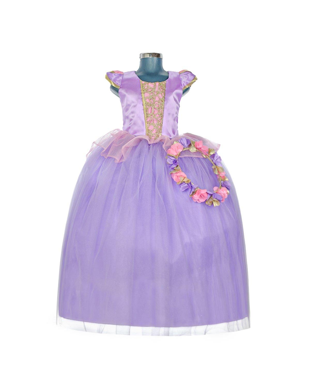 vestido niña  modelo princesa zell
