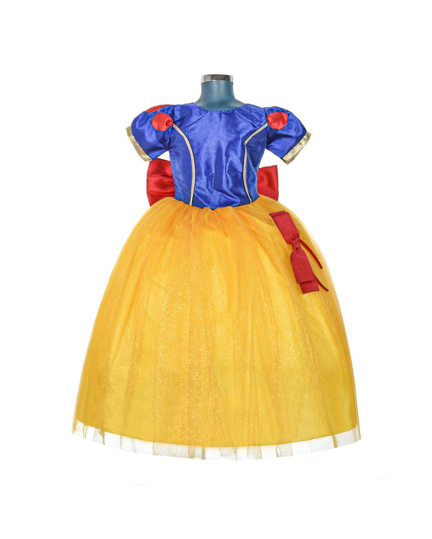 Vestido de Niña Modelo Princesa Blanca