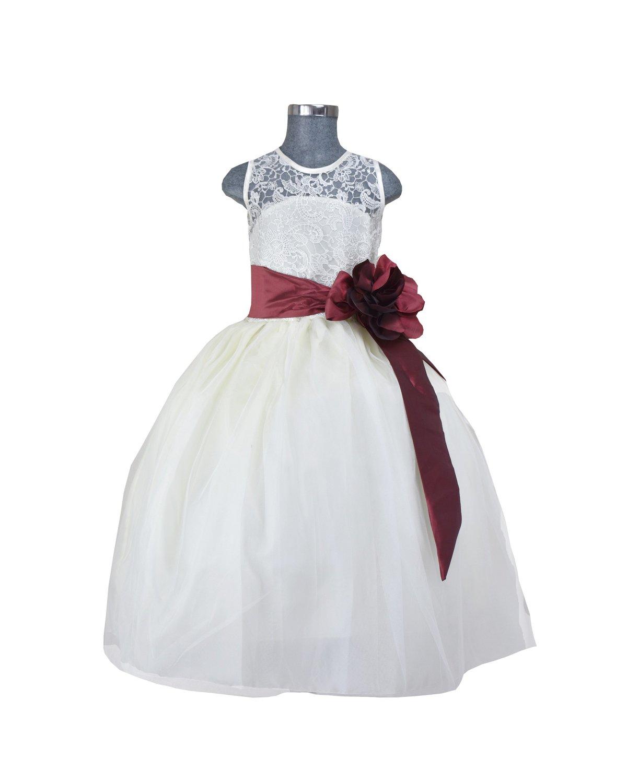 Girl Dress Yulissa Model Belt with Color
